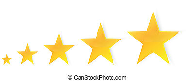 cinq, étoiles