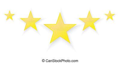 cinque, stelle