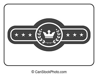 cinto, 5, campeão, ícone