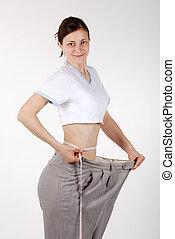 cintura, medida