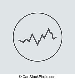 cinzento, 10, eps, experiência., vetorial, círculo, ícone