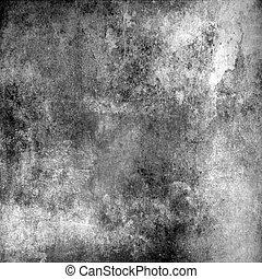 cinzento, abstratos, grunge, fundo, textura