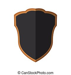 cinzento, escudo, companhia, proteção, sombra, segurança