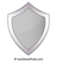 cinzento, escudo