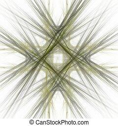 cinzento, padrão, abstratos, fundo, branca, fractal