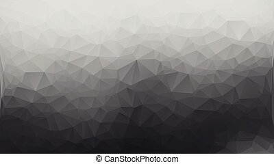 cinzento, triangulo, polígono, abstratos, fundo, branca