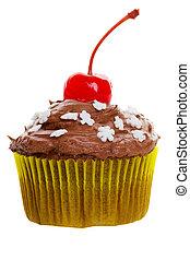 cioccolato, cupcake
