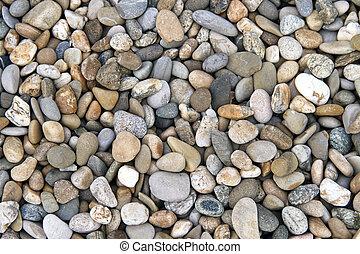 ciottoli, pietre, astratto, :, composizione