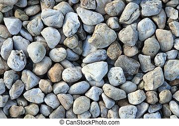 ciottolo, pietre, fondo