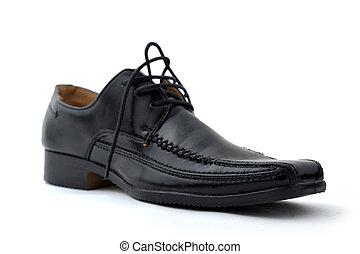 cipő, ember