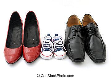 cipők, család