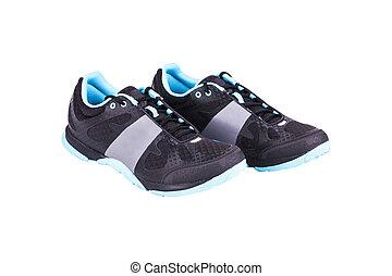 cipők, elszigetelt, kényelmes