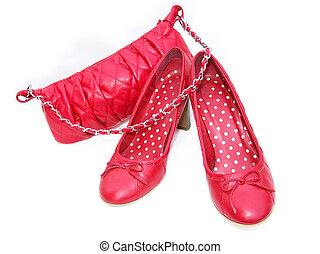 cipők, piros