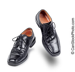 cipők, succesful, ügy, tánc