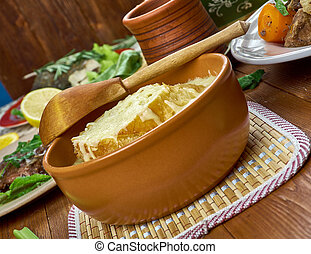 cipolla, francese, minestra