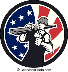 circ-usa-flag-icon, carpenter-lumber-thumbs-up