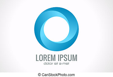 Circle Abstract icon - Circle Abstract Corporate, Media,...