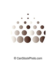 Circle abstract logo icon vector