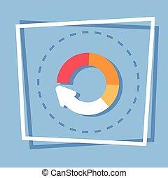 Circle Arrow Diagram Icon Reload Web Button