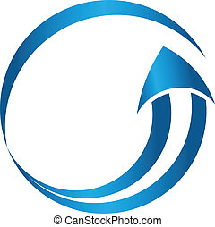 Circle arrow image logo