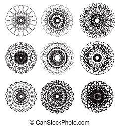 Circle art set