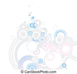 Circle background Illustration of background useful for many...