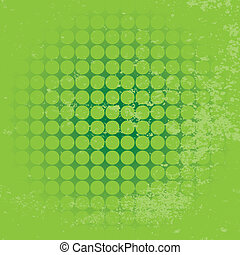 Circle background with grunge