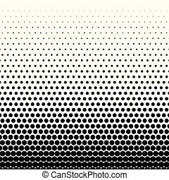 circle black halftone vector background