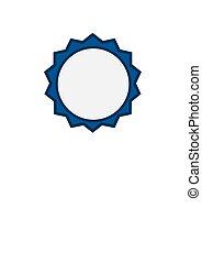 blue emblem - circle blue emblem border decoration ornament...