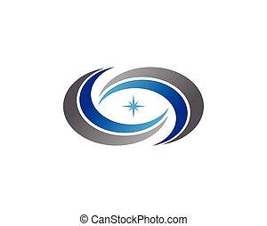 Circle business concept logo design