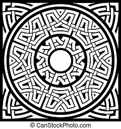 circle celtic frame