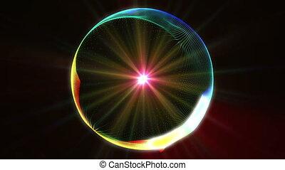 circle color abstract plasma