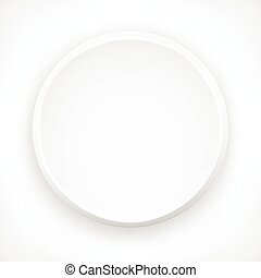 Circle design elements on white