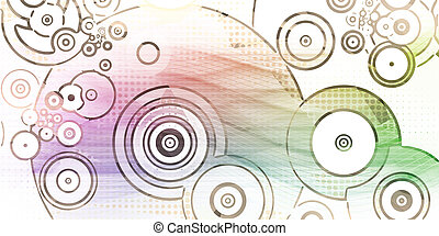 Circle Dot Pattern