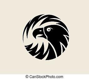 Circle Eagle Logo