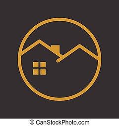 Circle Emblem Golden House