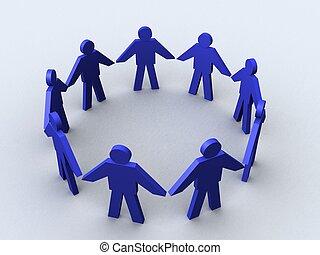 circle., empresa / negocio