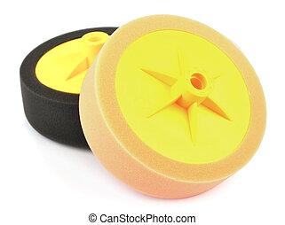 circle for car polishing