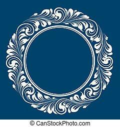 Circle frame.