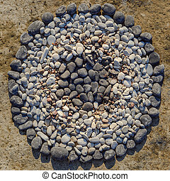 Circle from stones