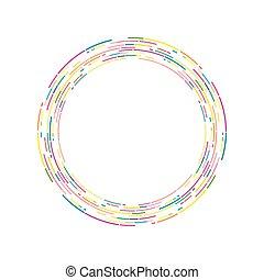 Circle Graphics art
