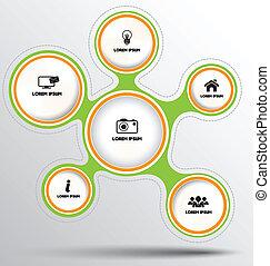Circle group template