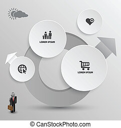 Circle group vector template