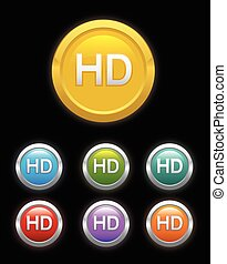 Circle HD button