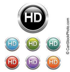 Circle HD label