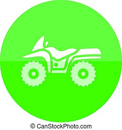 Circle icon - All terrain vehicle