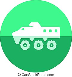 Circle icon - Armored vehicle