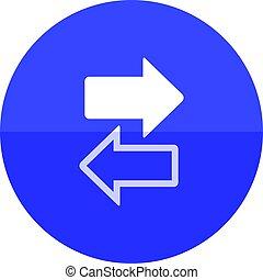 Circle icon - Arrows