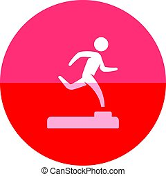 Circle icon - Athletic trophy