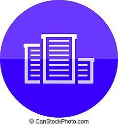 Circle icon - Building